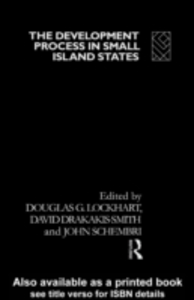 Ebook in inglese Development Process in Small Island States -, -