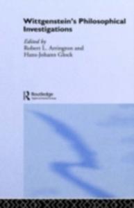 Ebook in inglese Wittgenstein's Philosophical Investigations -, -