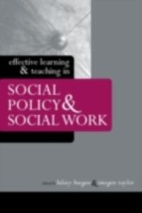 Foto Cover di Effective Learning and Teaching in Social Policy and Social Work, Ebook inglese di  edito da Taylor and Francis