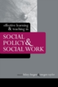 Ebook in inglese Effective Learning and Teaching in Social Policy and Social Work -, -