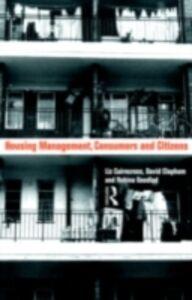 Ebook in inglese Housing Management, Consumers and Citizens Caincross, Liz , Clapham, David , Goodlad, Robina