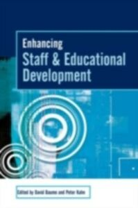 Foto Cover di Enhancing Staff and Educational Development, Ebook inglese di  edito da Taylor and Francis