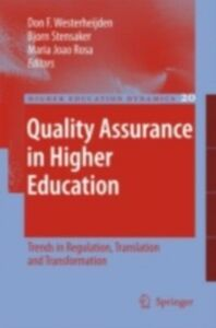 Foto Cover di Quality Assurance in Higher Education, Ebook inglese di Dr Roger Brown,Roger Brown, edito da Taylor and Francis