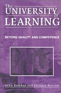 Ebook in inglese University of Learning Bowden, John , Marton, Ference