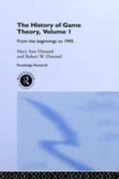 History Of Game Theory, Volume 1