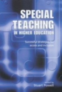 Ebook in inglese Special Teaching in Higher Education Powell, Stuart