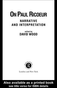 Foto Cover di On Paul Ricoeur, Ebook inglese di  edito da Taylor and Francis