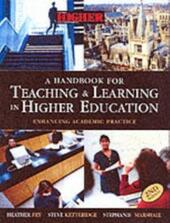 Handbook for Teaching and Learning in Higher Education