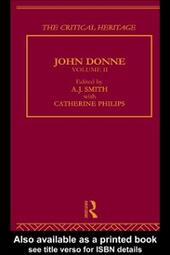 John Donne: The Critical Heritage