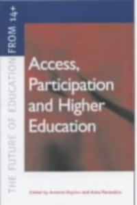 Ebook in inglese Access, Participation and Higher Education -, -