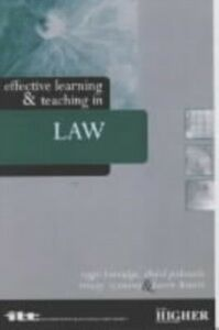 Foto Cover di Effective Learning and Teaching in Law, Ebook inglese di  edito da Taylor and Francis