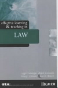 Ebook in inglese Effective Learning and Teaching in Law -, -