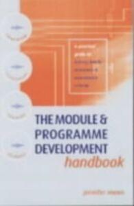 Ebook in inglese Module and Programme Development Handbook Moon, Jennifer (Staff Development Officer, University of Exeter)