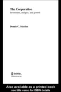 Ebook in inglese Corporation Mueller, Dennis C.
