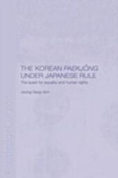 Korean Paekjong Under Japanese Rule