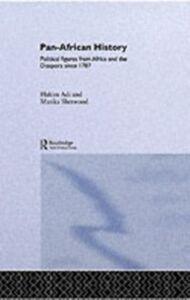 Ebook in inglese Pan-African History Adi, Hakim , Sherwood, Marika