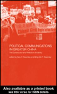 Ebook in inglese Political Communications in Greater China