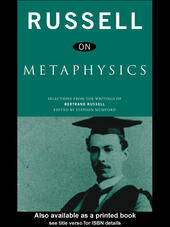Russell on Metaphysics