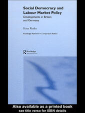 Social Democracy and Labour Market Policy