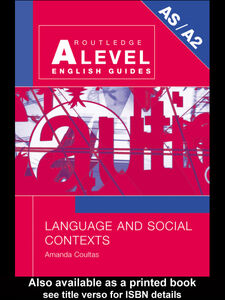 Ebook in inglese Language and Social Contexts Coultas, Amanda