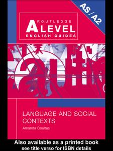 Ebook in inglese Language and Social Contexts Coultas, Amanda