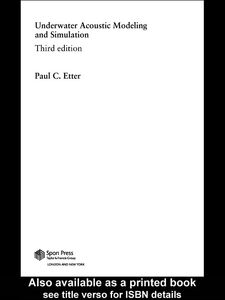 Ebook in inglese Underwater Acoustic Modelling and Simulation Etter, Paul. C