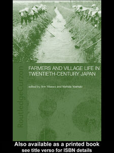 Ebook in inglese Farmers and Village Life in Japan