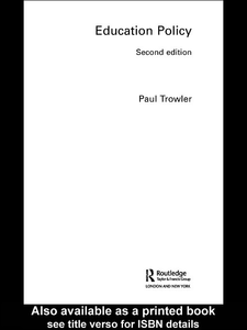Ebook in inglese Education Policy Trowler, Paul
