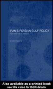 Iran's Persian Gulf Policy