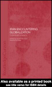 Ebook in inglese Iran Encountering Globalization