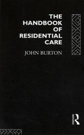 Handbook of Residential Care