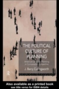 Foto Cover di Political Culture of Planning, Ebook inglese di J Barry Cullingworth,J. Barry Cullingworth, edito da Taylor and Francis
