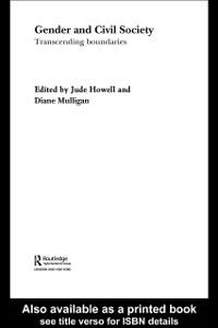 Ebook in inglese Gender and Civil Society Howell, Jude , Mulligan, Diane
