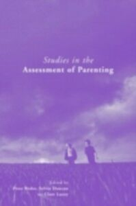 Ebook in inglese Studies in the Assessment of Parenting -, -