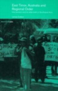 Ebook in inglese East Timor, Australia and Regional Order Cotton, James