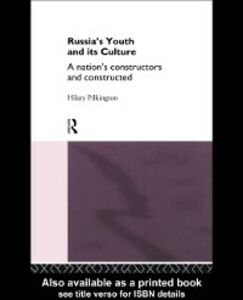 Ebook in inglese Russia's Youth and its Culture Pilkington, Hilary