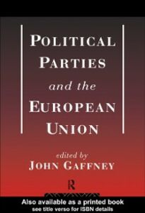 Ebook in inglese Political Parties and the European Union