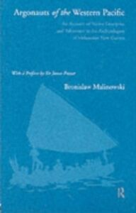 Ebook in inglese Argonauts of the Western Pacific Malinowski, Bronislaw