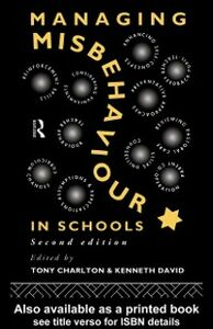 Ebook in inglese Managing Misbehaviour in Schools