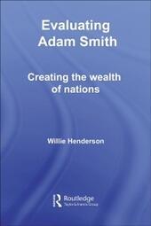 Evaluating Adam Smith