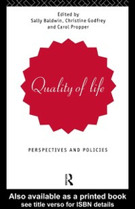 Ebook in inglese Quality of Life -, -
