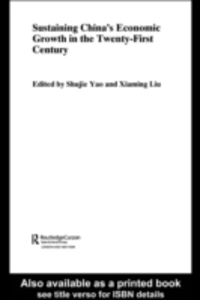 Ebook in inglese Sustaining China's Economic Growth in the Twenty-first Century -, -