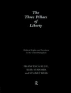 Ebook in inglese Three Pillars of Liberty Klug, Francesca , Starmer, Keir , Weir, Stuart