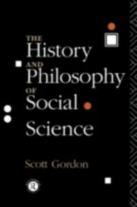 Ebook in inglese History and Philosophy of Social Science Gordon, H. Scott