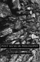 Post-Secular Philosophy