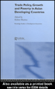 Ebook in inglese Trade Policy, Growth and Poverty in Asian Developing Countries