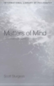 Ebook in inglese Matters of Mind Sturgeon, Scott