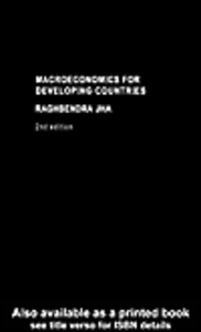 Ebook in inglese Macroeconomics for Developing Countries Jha, Raghbendra