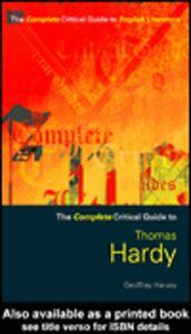 Foto Cover di Thomas Hardy, Ebook inglese di Geoffrey Harvey, edito da
