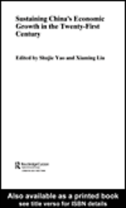 Ebook in inglese Sustaining China's Economic Growth in the Twenty-first Century